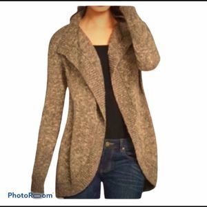 CAbi #880 Swear by Sweater Chunky Open Cardigan